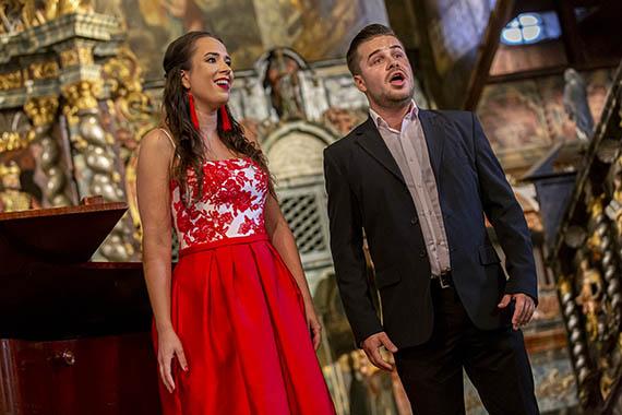 Operné gala v Kežmarku 2019, Renata Bicánková, Dávid Harant, foto: Zdenko Hanout